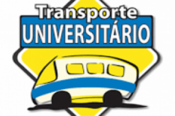 TRANSPORTE ESCOLAR UNIVERSITÁRIO 2º SEM/2020